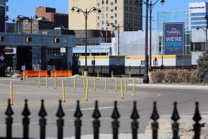 COVID-19 testing trailers-Milenio Stadium-Canada