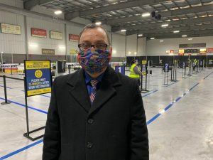 Medical officer of health for Windsor-Esssex-Milenio Stadium-Ontario