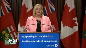 Minister Lisa MacLeod-Milenio Stadium-Ontario