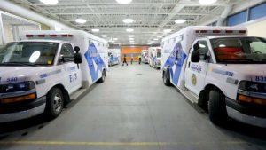 Paramedic team-Milenio Stadium-Ontario