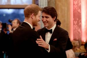 Prince Harry with Prime Minister Trudeau-Milenio Stadium-Canada