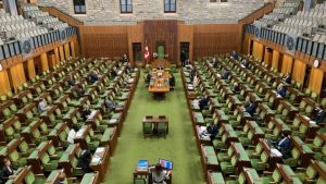 Starting today, members of Parliament can cast votes online-Milenio Stadium-Canada