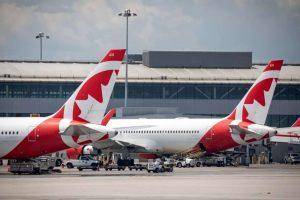 Air Canada Rouge Boeing 767-Milenio Stadium-Canada
