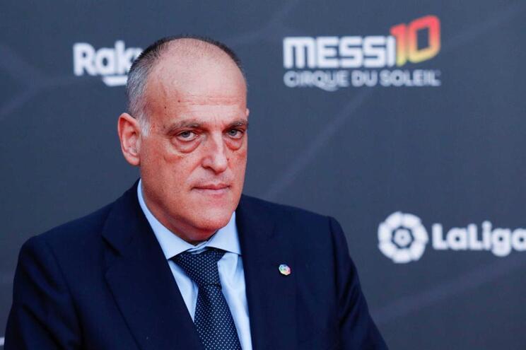 """""""Conceito da Superliga europeia caiu no ridículo"""", diz presidente da La Liga"""