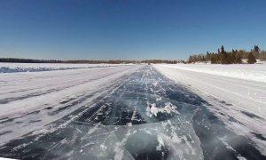 Ice road-Milenio Stadium-Canada