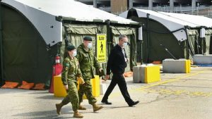 Military help for pandemic-hit Ontario hospitals starts at Sunnybrook in Toronto on Friday-Milenio Stadium-Ontario