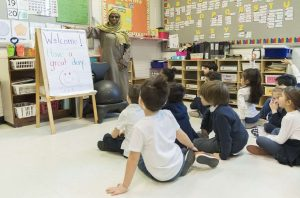 Kindergarten teacher Haniyfa Scott-Milenio Stadium-Canada