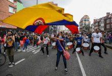 milenio stadium - TOPSHOT-COLOMBIA-TAX-REFORM-PROTEST