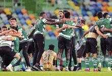 milenio stadium - futebol - Leões deitam as garras no título à boleia de Paulinho