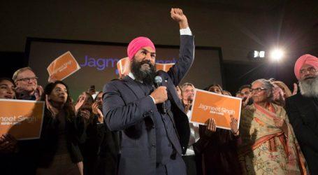 Jagmeet Singh faz campanha no Québec antes de eleição intercalar federal